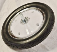 Solid Tire & Wheel (Front) AM-12 / AM-12S